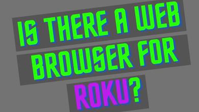 Web Browser for Roku