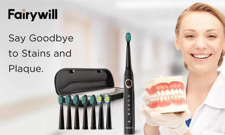 Fairywill D8 Sonic Electric Toothbrush
