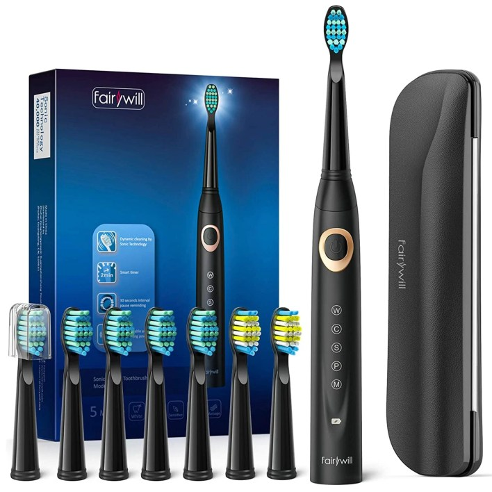 Fairywill D8 Sonic Electric Toothbrush Package