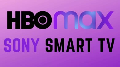 HBO Max on Sony Smart TV