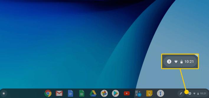 Restart Chromebook to Install Updates
