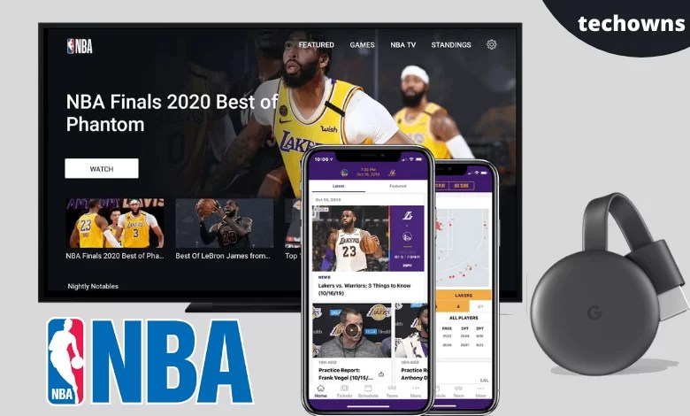 Chromecast NBA