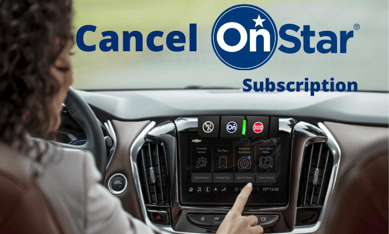 How to cancel OnStar?How to cancel OnStar?