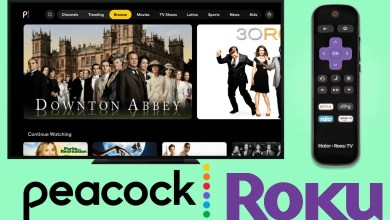 Peacock TV on Roku