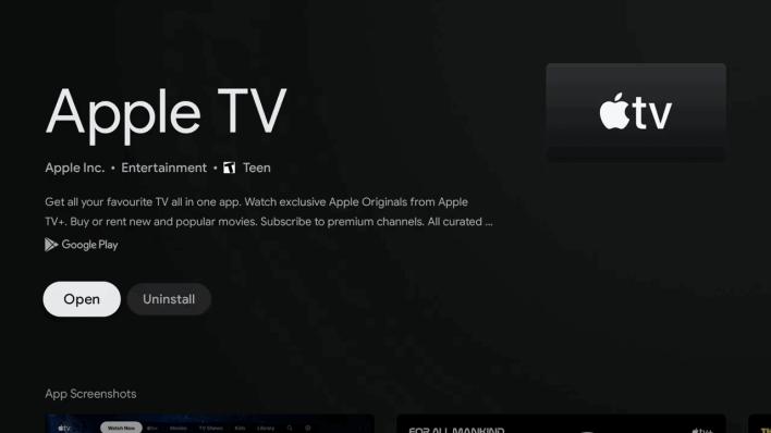 Launch Apple TV