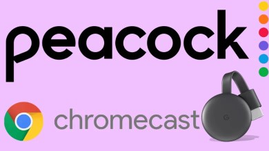 Chromecast Peacock TV