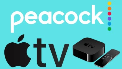 Peacock TV on Apple TV