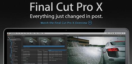 Final Cut Pro X - Tech Panorma