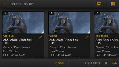 Artemis director's viewfinder-techpanorma
