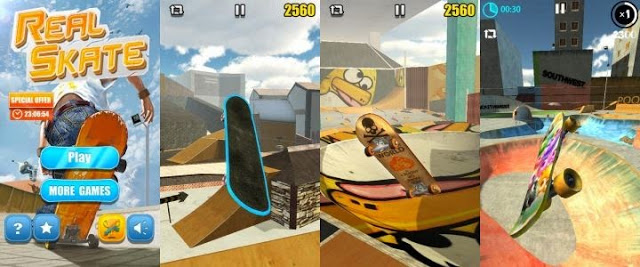 Real Skate 3D play on PC-techpanorma