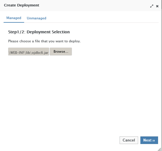 JBoss WildFly Datasouce Creation