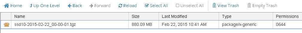 wordpress files backups