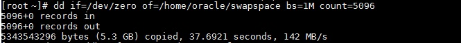 create swap space linux