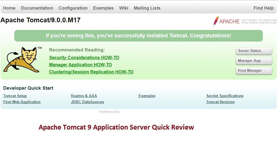 Apache Tomcat 9 Application Server