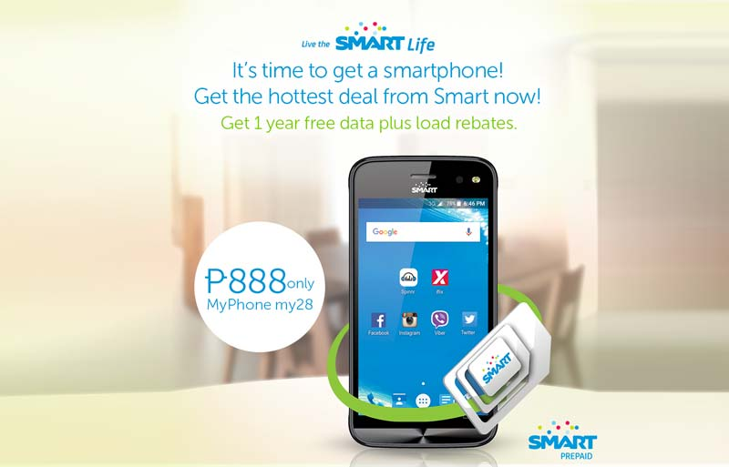 MyPhone My28 Smart Prepaid