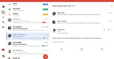 Gmail Blog Tablet image