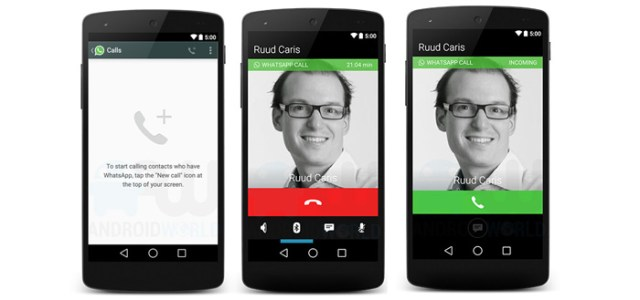 Whatsapp Voice Call images leaked | Techplayce