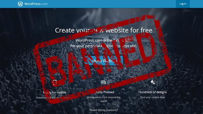 wordpress-banned
