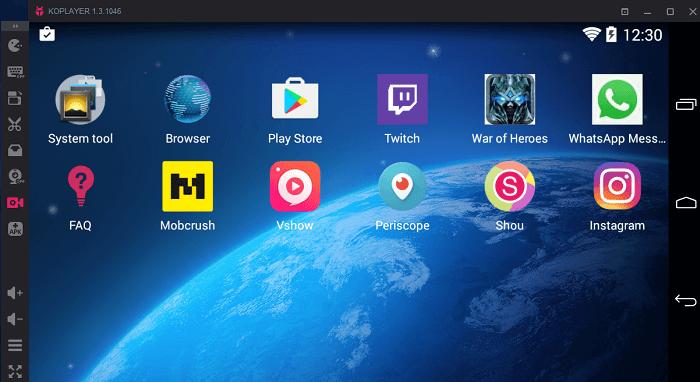 Ko player - Best Android Emulators For Windows