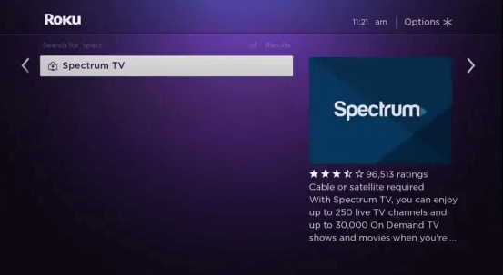 Choose Spectrum TV