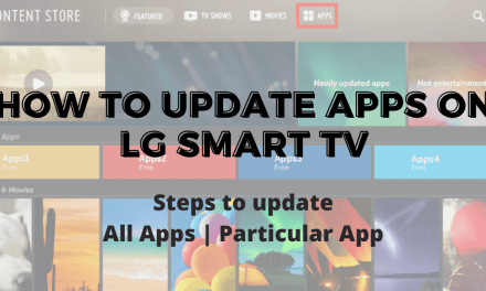 How To Update Apps On LG Smart TV [2 Methods]