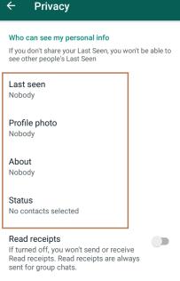 Hide all - Show Offline on Whats app (Hide Your Online Status)