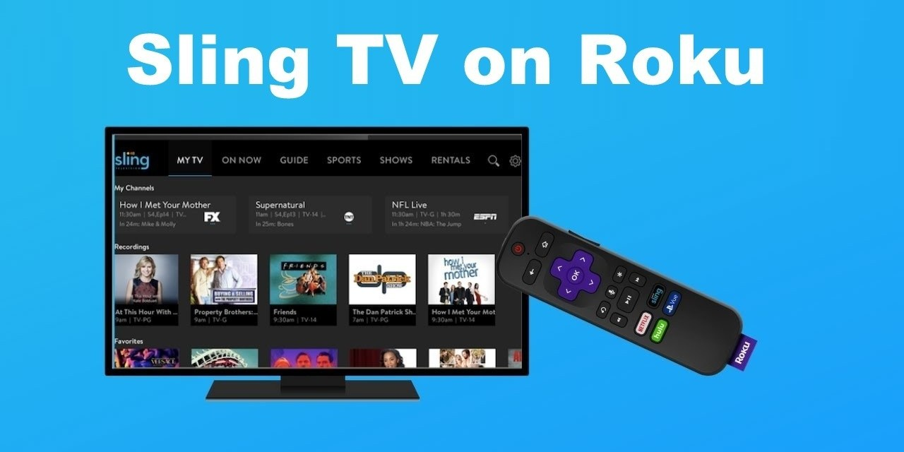 How to Install Sling TV on Roku Connected TV