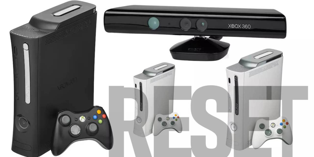 How to Reset Xbox 360 to Factory Settings
