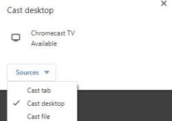 Google Chrome  - How to Chromecast Sky Go