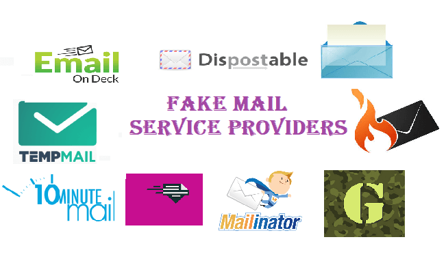Fake Mail Service Providers