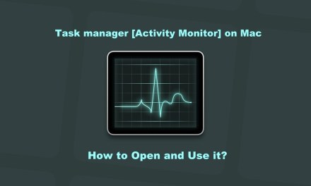 How to Open Task Manager on Mac and Force Quit an App