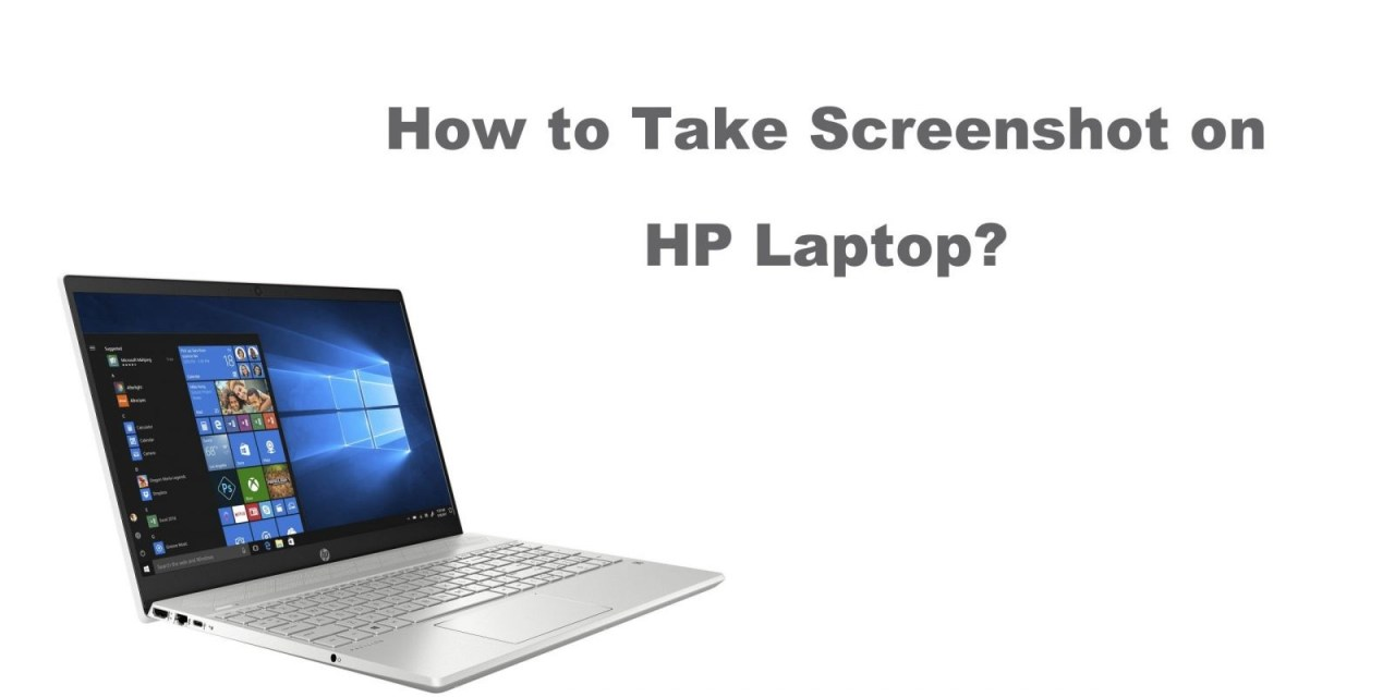 How to Take Screenshot on HP Laptop using 3 Different Ways