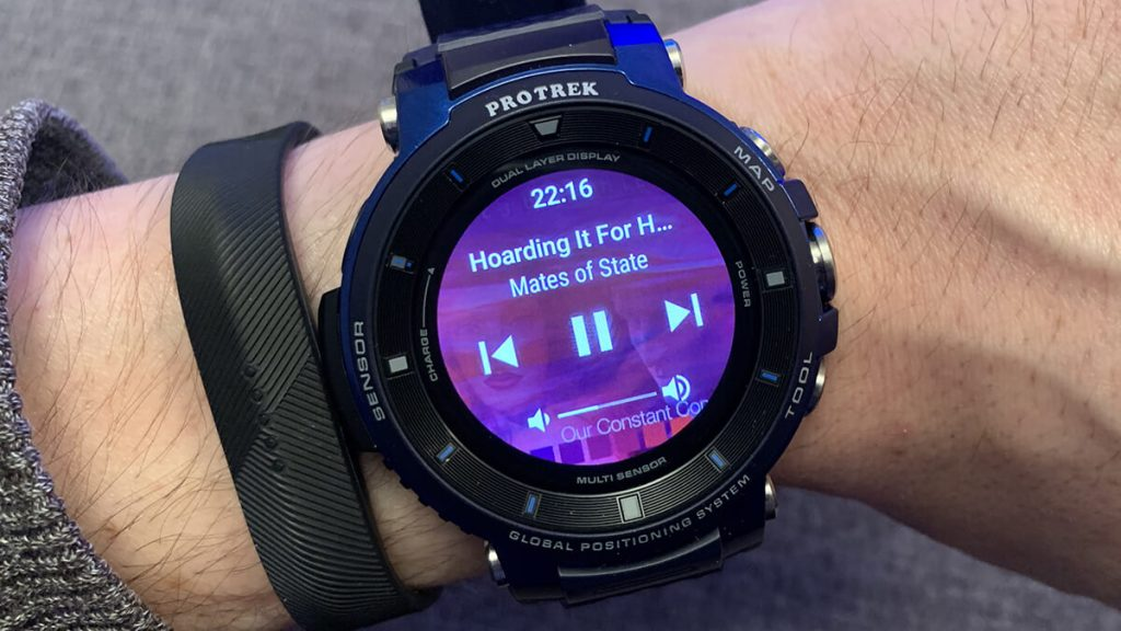 Music on Fossil Smartwatch
