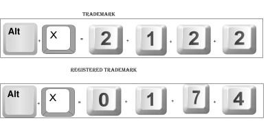 Windows Keyboard without Numeric Keypad (Laptop)