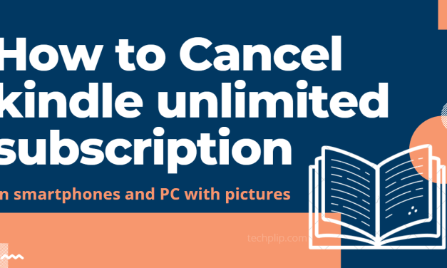 How to Cancel Kindle Unlimited Subscription in Two Ways