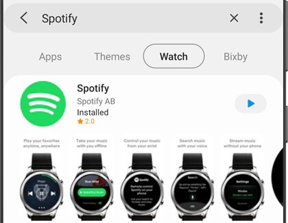 How to Use Spotify on Samsung Galaxy Watch