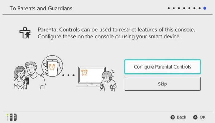 Configure Parental Controls - Set Up Nintendo Switch