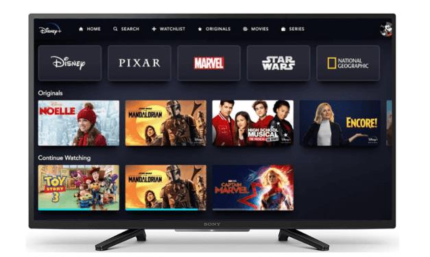 How to Watch Disney Plus on Sony Smart TV
