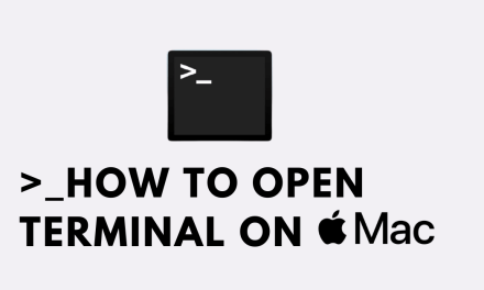 How to Open Terminal on Mac [6 Different Ways]