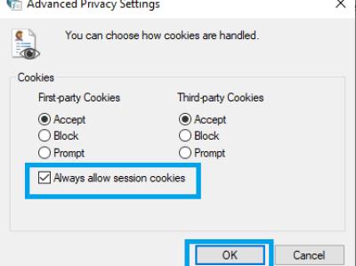 Advanced Privacy Settings