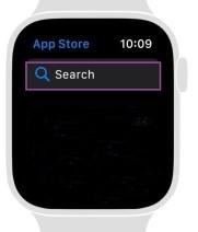 App Store Search on Apple Watch