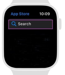 App Store Search on Apple Watch