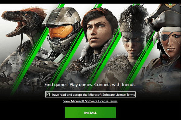 install - Xbox Game Pass for PC