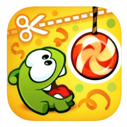 Cut the rope - Best iPad Apps for Toddlers