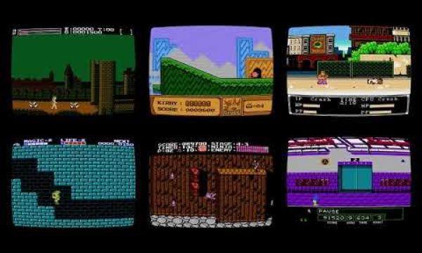NES Screensaver