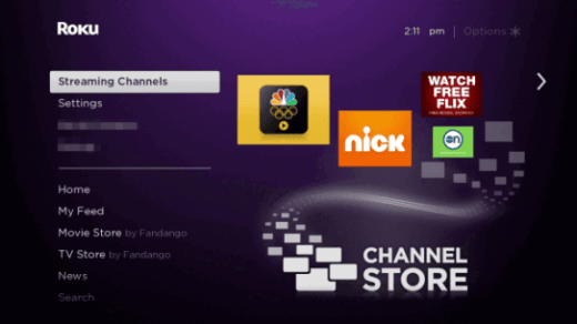 Streaming Channels  - Hallmark Channel Everywhere Roku