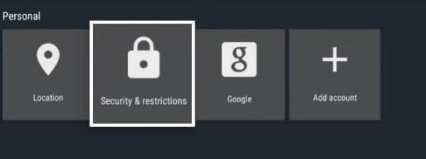 Nvidia Shield - Personal Settings