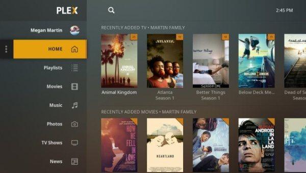Plex on Vizio TV