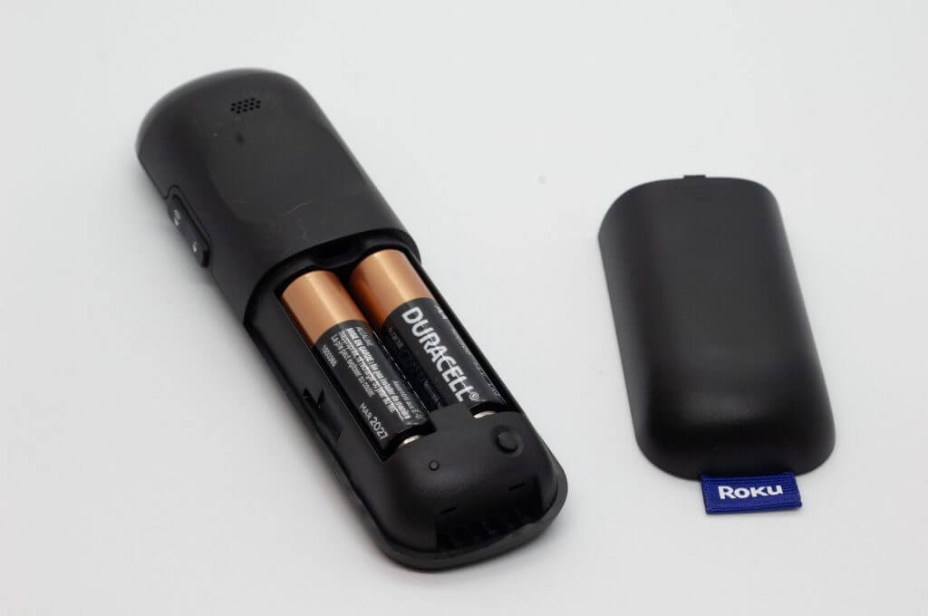 Replace the Batteries on Roku Remote