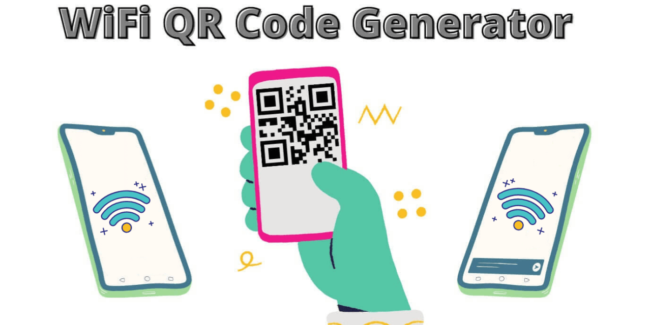 WiFi QR Code Generator   How to create QR Codes for FREE